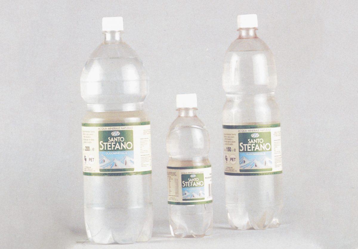 Nuove bottiglie in PET